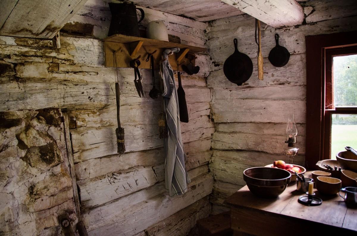 George Gilbert's cabin, freedman's cabin