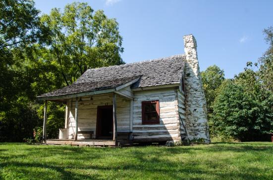 George Gilmore's cabin