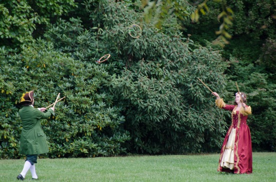 18th-century games at James Madison's Montpelier