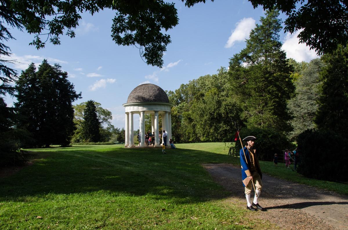 Festivities at James Madison's Montpelier