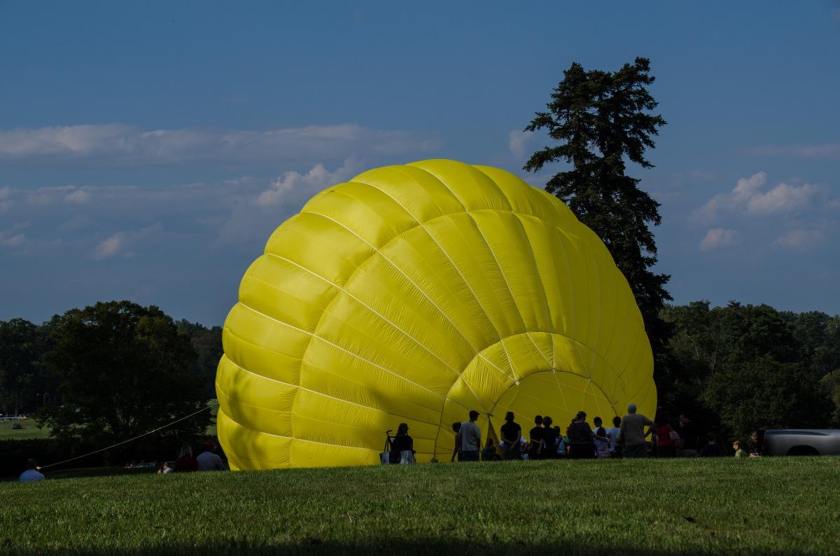 James Madison's Montpelier - balloon