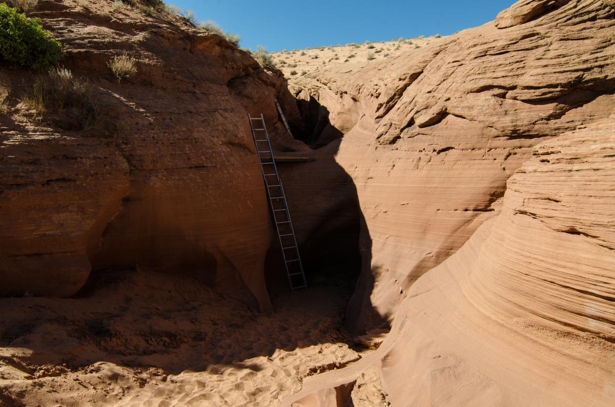 Entrance to the Rattlesnake Canyon, Arizona