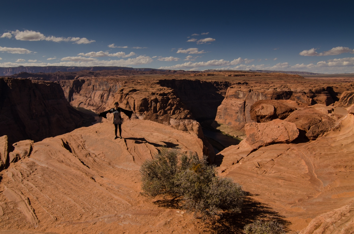 Horseshoe Bend Overlook, on the edges