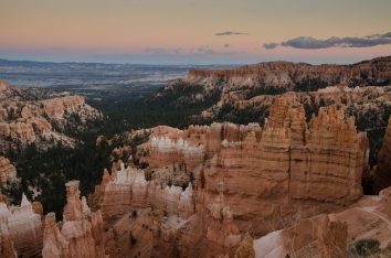 Sunset at Sunset Point, Bryce Canyon