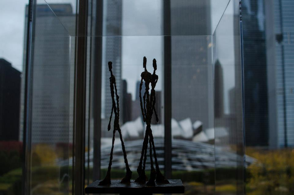 AIC Modern Wing - Giacometti and the Millennium Park