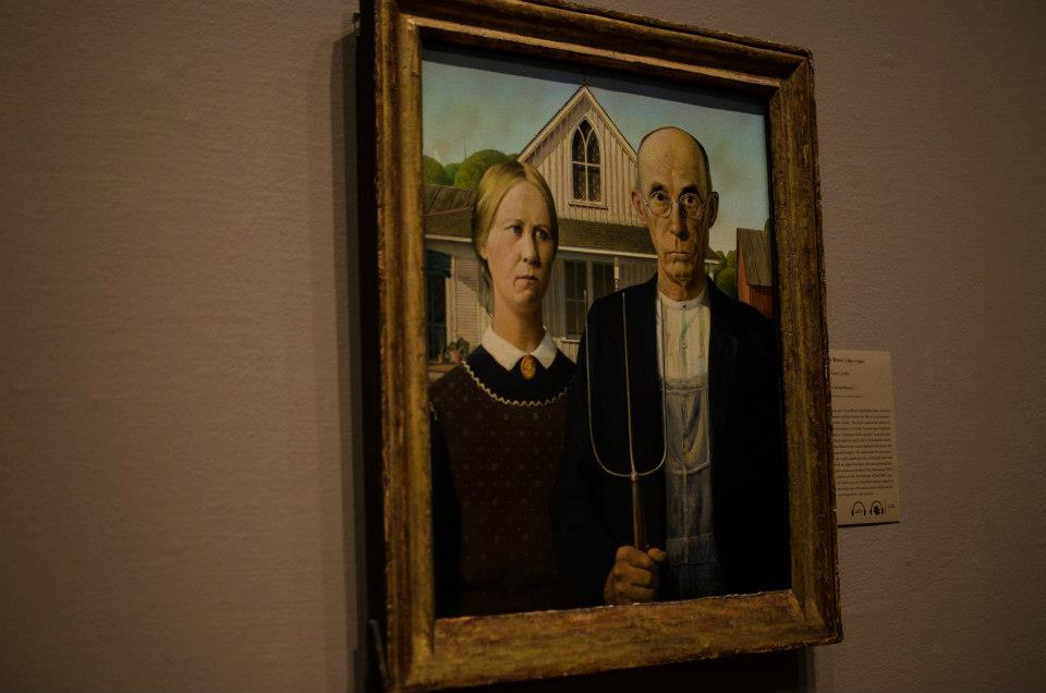 American Gothic at the Art Institute of Chicago