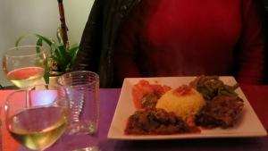 Food at Toko Sawa, Hague