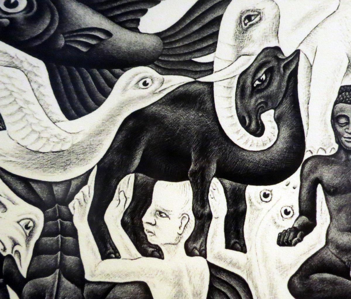 Escher's camel - fragment