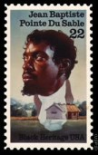 Jean Baptiste Pointe Du Sable stamp
