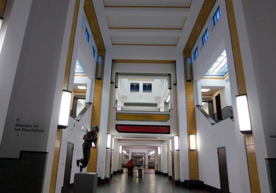 Inside the brilliant Municipal Museum (Gemeentemuseum Den Haag)