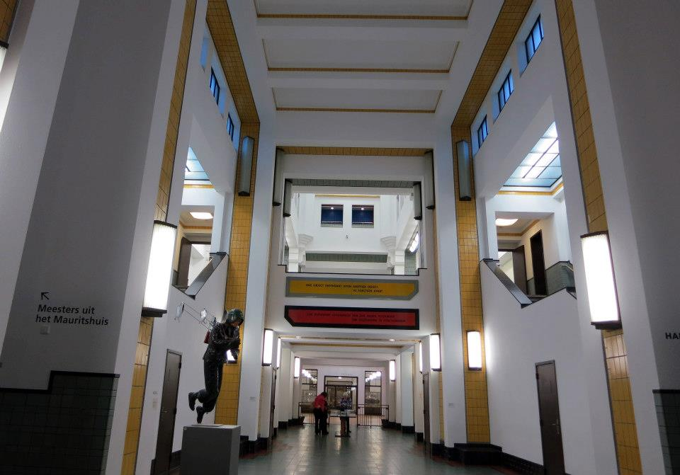 Inside the brilliant Municipal Museum (Gemeentemuseum Den Haag)