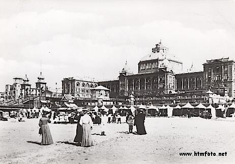 Old Photograph of Kurhaus, Hague