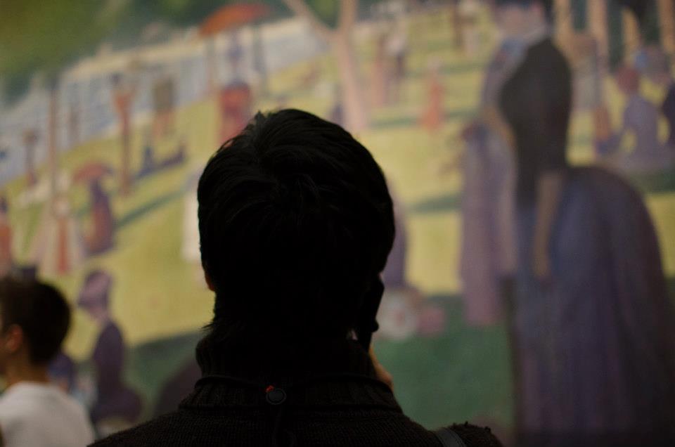 Viewing Seurat's A Sunday on La Grande Jatte—1884