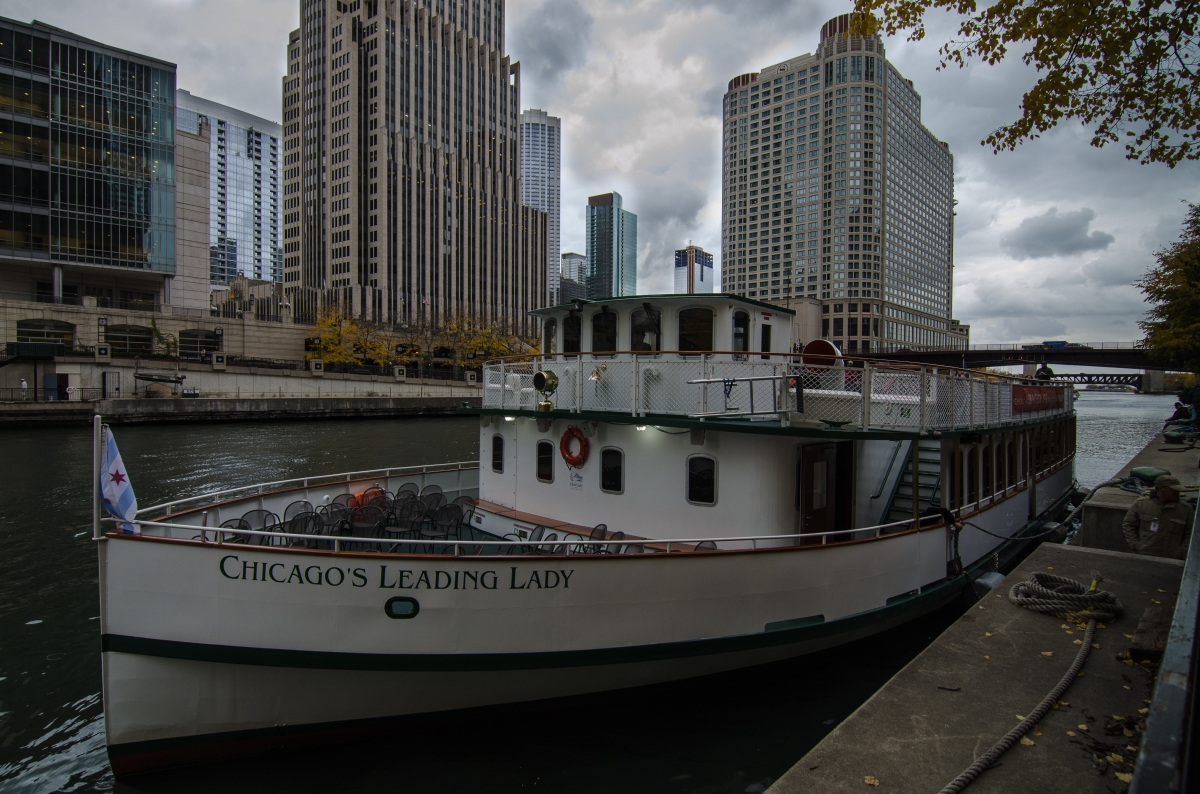 Chicago's Leading Lady, part of the Chicago Architecture Foundation fleet