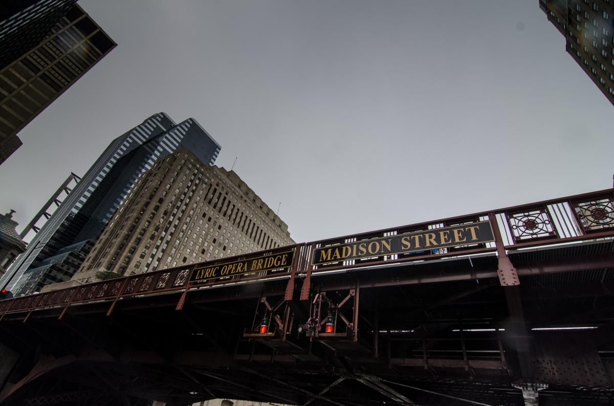 Chicago's Lyric Opera Bridge