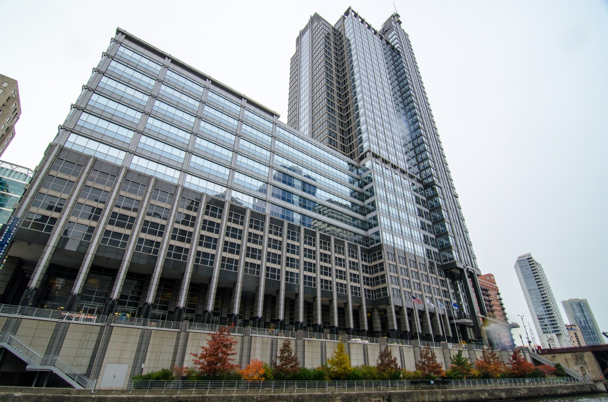 Perkins and Will's 100 North Riverside, the Boeing Building