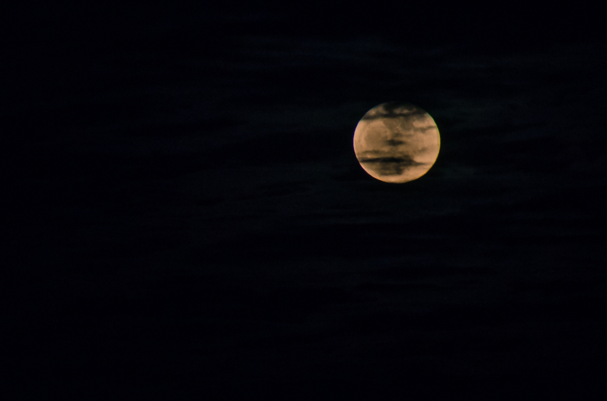 Full Moon over West Virginia