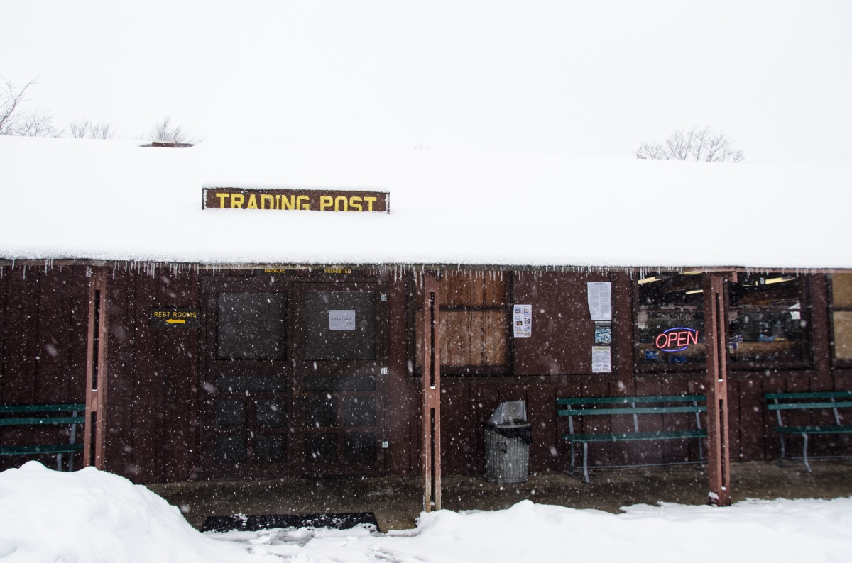 Blackwater Falls State Park's Trading Post,