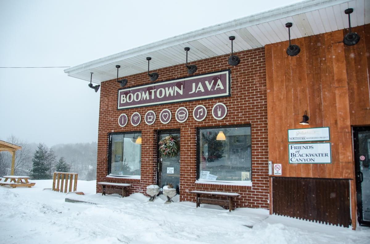 Boomtown Java, Davis, West Virginia