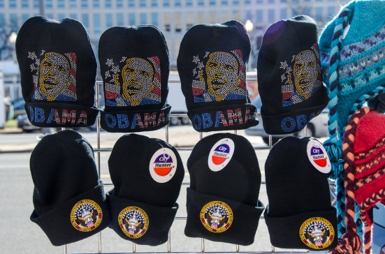 Almost inauguration, Obama Hats 2013