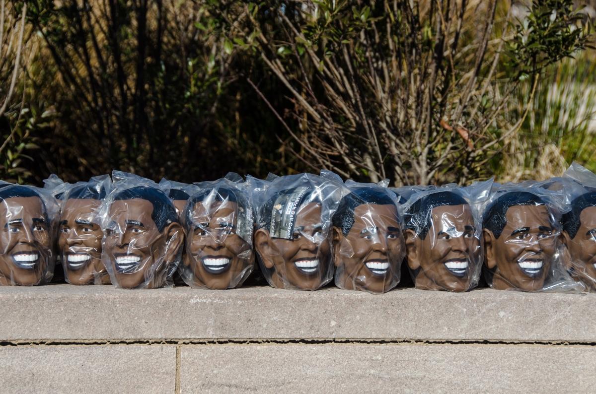 Obama souvenirs, Washington 20 January 2013