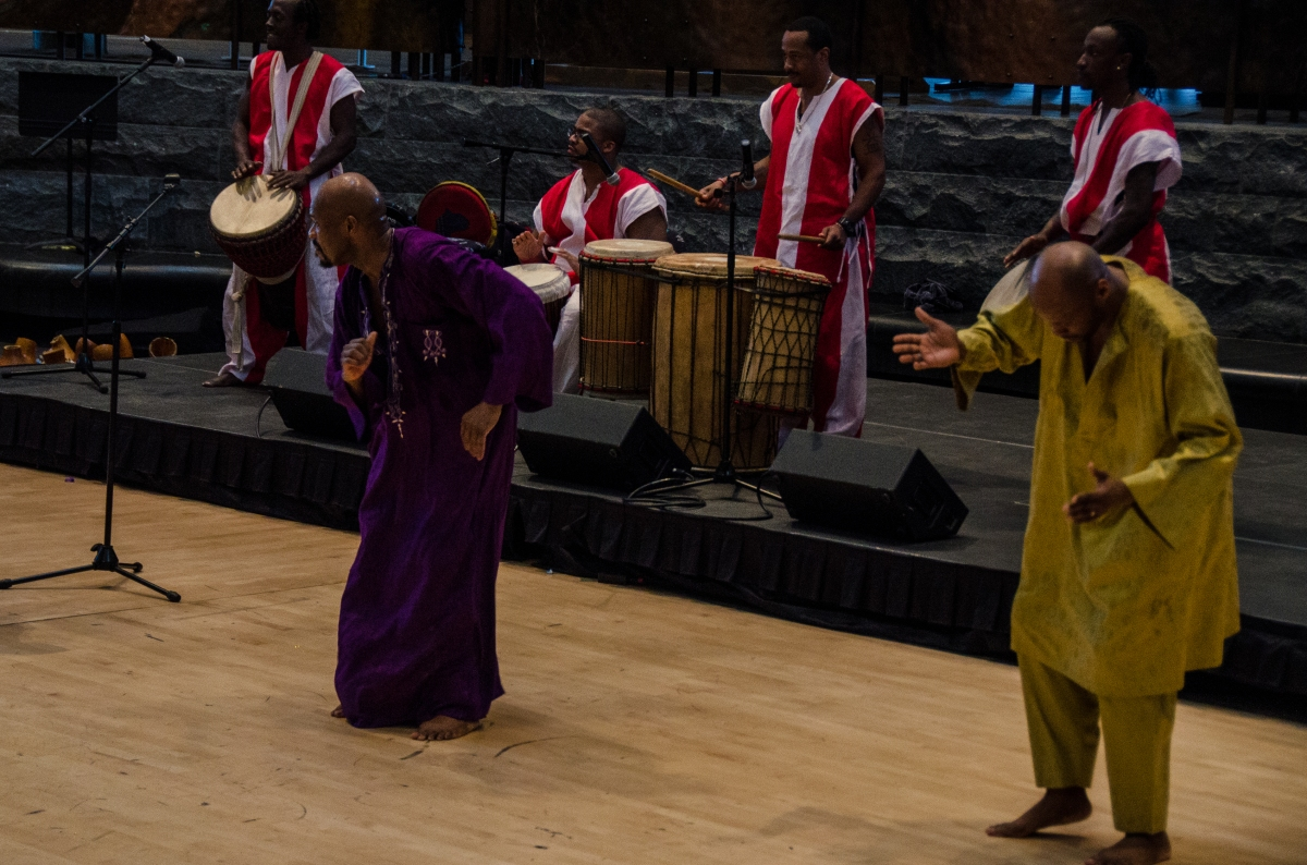 KanKouran West African dance company at National Museum of the American Indian