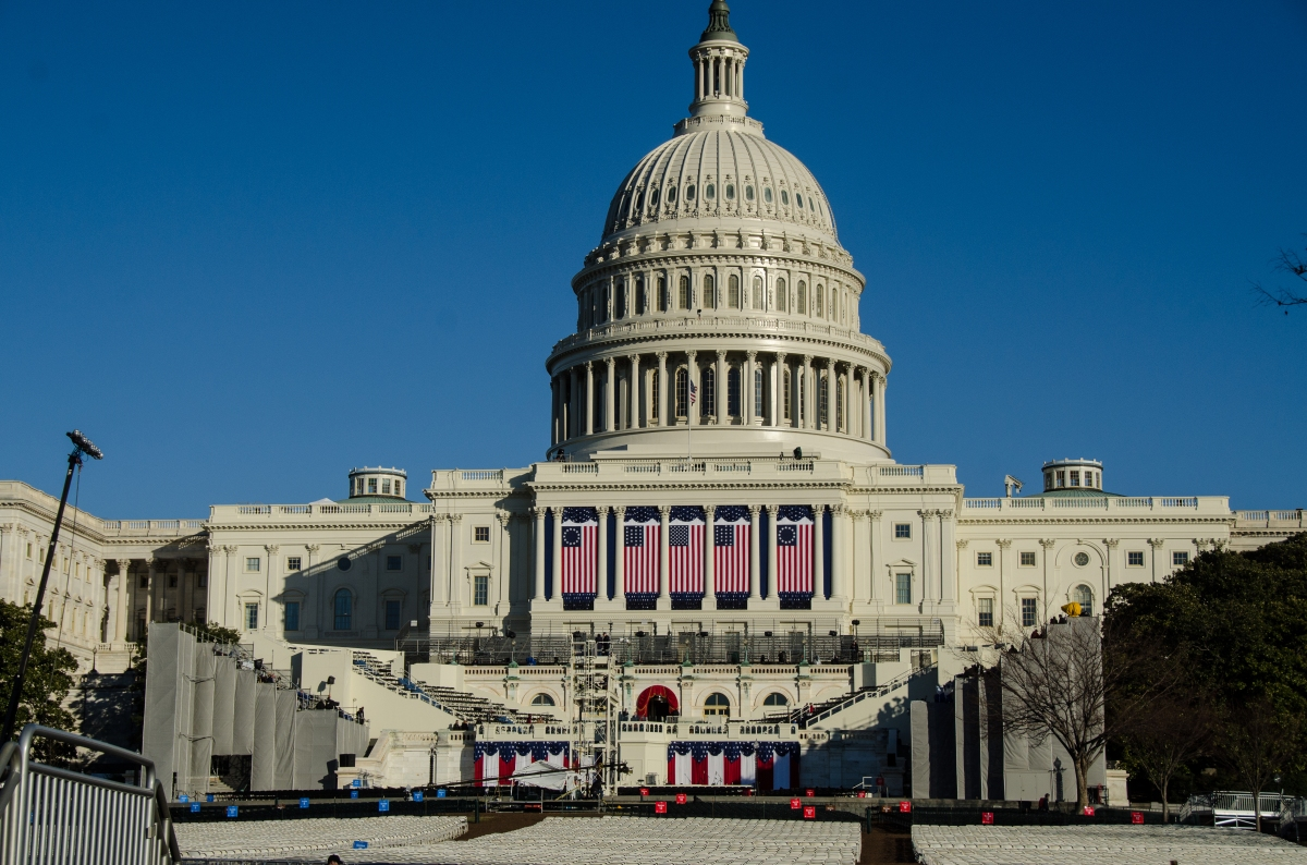 US Capitol, 2013 inauguration