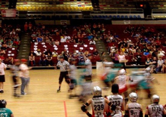 Action, DC Rollergirls Championship