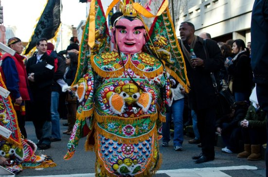 Colorful Gentleman, DC Chinese Lunar New Year Parade