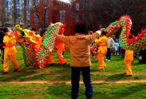 Dress rehearsal, DC Chinese Lunar New Year Parade practice