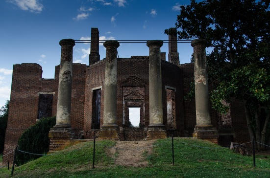 Barboursville Ruins, Virginia's Orange County