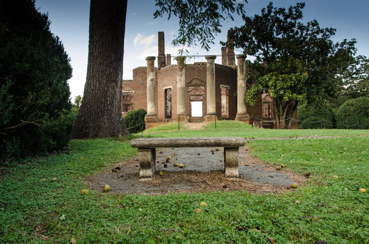 Barboursville Ruins along the Monticello Wine Trail