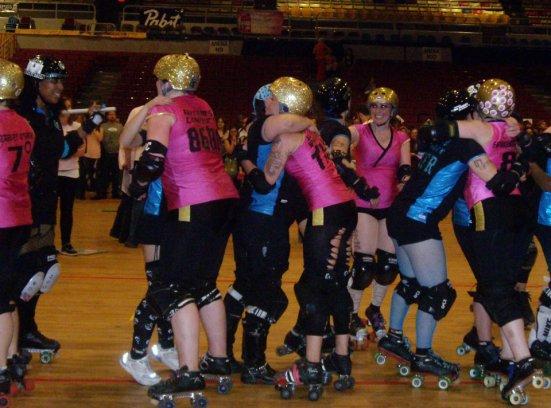 DC Rollergirls Championship winners