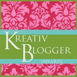 Krativ Blogger award logo
