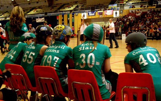 Names - Majority Whips, DC Rollergirls
