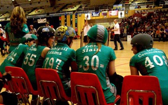 Names - Majority Whips, DC Rollergirls