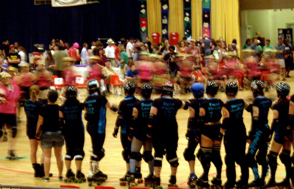 Saying Hello, DC Rollergirls Championship