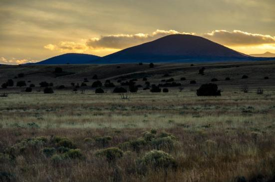 Sunset, Wupatki and Sunset Crater, Arizona