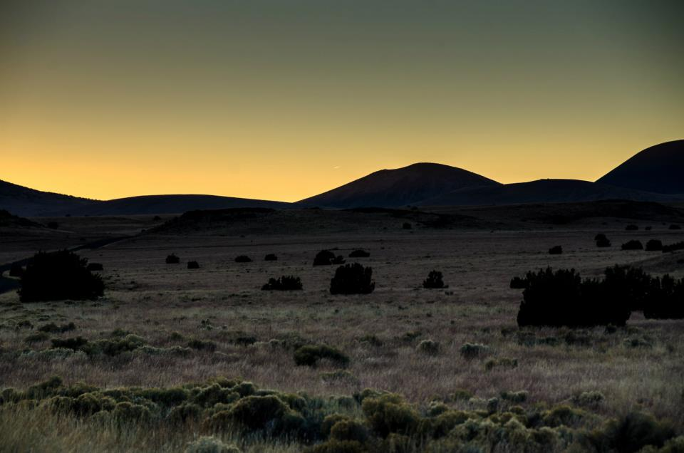 Sunset at Wupatki National Monument