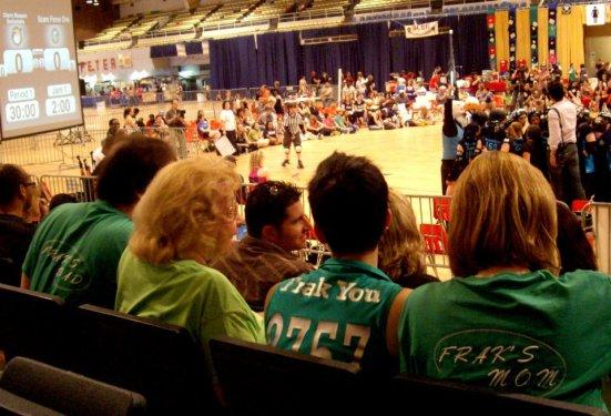 Frak's family - DC Rollergirls Championship game