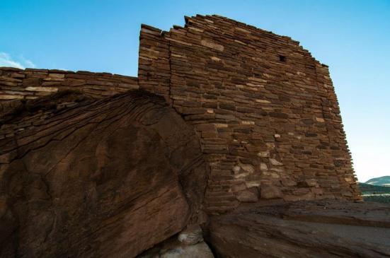 Wukoki Ruin, Wupatki National Monument rocks