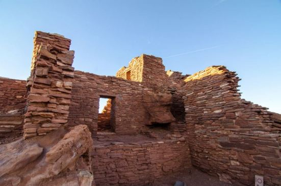 Ruins at the Wupatki National Monument, Arizona