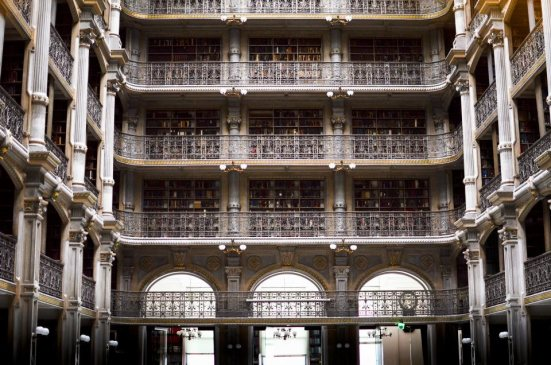 Peabody Library reading room, Baltimore