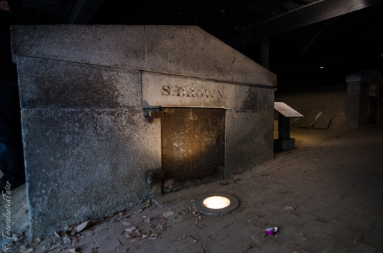 Catacombs of the Westminster Hall and Burial Ground, Baltimore, MD