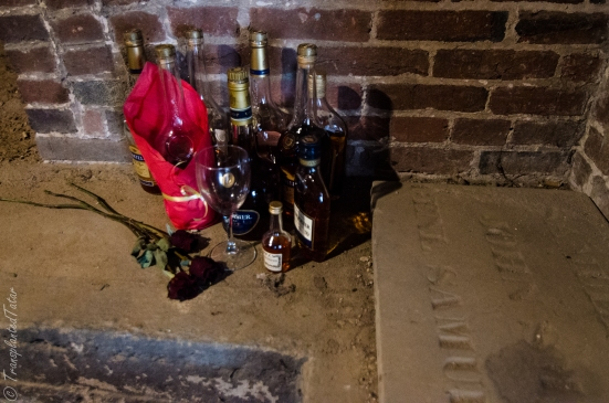 Gifts of the Poe Toaster, Westminster Hall & Burying Ground