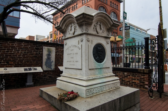 Poe's Tomb, Westminster Hall & Burying Ground, Baltimore
