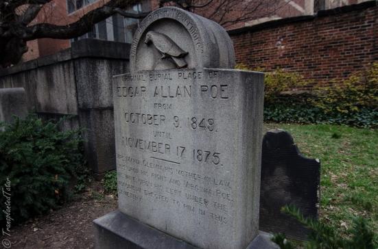 Poe's original resting place, Baltimore