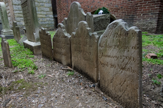 The Brown children, Westminster Hall and Burying Ground, Baltimore, MD