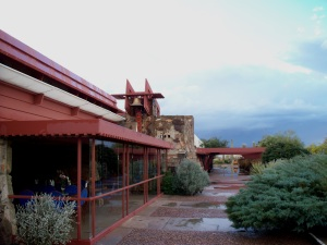Taliesin West restaurant, Scottsdale