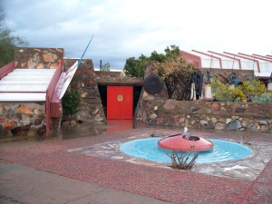 Taliesin West terrace, Scottsdale